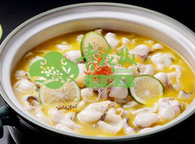 青花椒砂锅鱼泰式青柠味