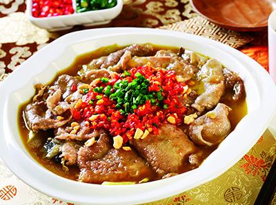 渝信川菜剁椒嫩牛肉