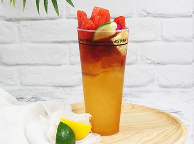卡旺卡奶茶饮品展示