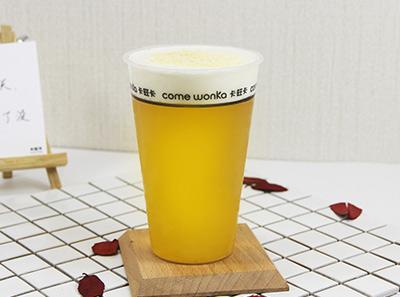 卡旺卡奶茶品牌展示