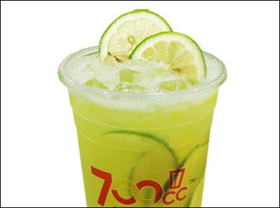 700都市茶饮柠檬酷乐