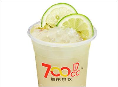 700都市茶饮柠檬芦荟优多