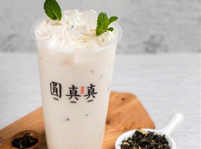 圆真真奶茶加盟品牌