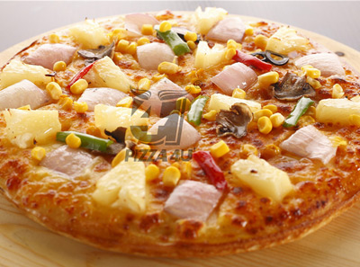 4u披萨纤秀减肥素食披萨