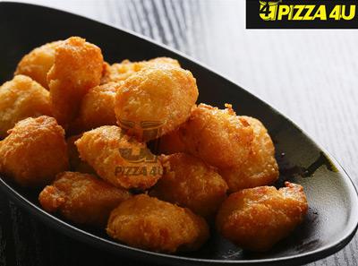 4u披萨香炸脆嫩鸡米花