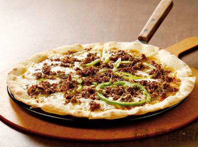 速度披萨韩式烤肉披萨