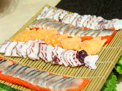 吉布鲁牛排海鲜菜品