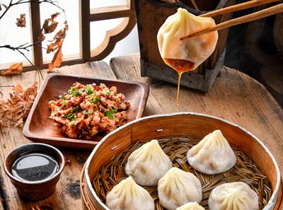 江南小镇小笼包加盟菜品