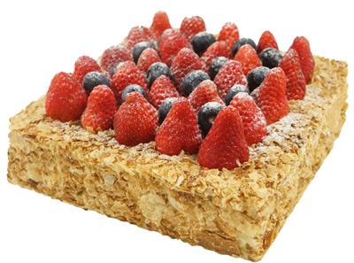 56cake草莓拿破