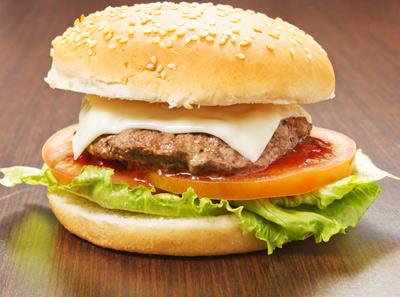 士百士汉堡加盟产品