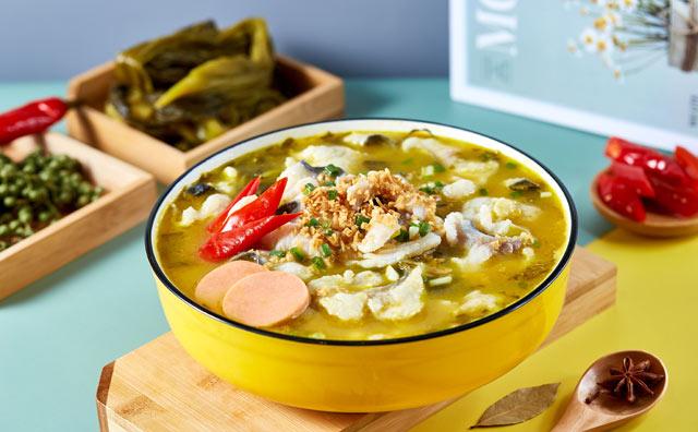 鱼吖吖酸菜鱼米饭加盟菜品