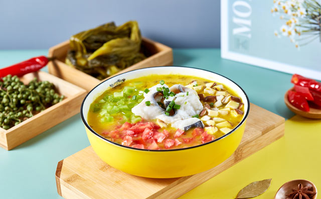 鱼吖吖酸菜鱼米饭