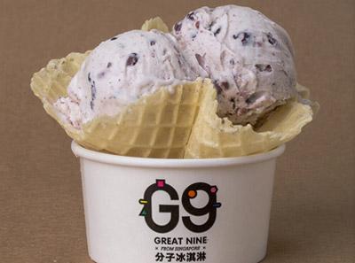 G9分子冰淇淋加盟牛奶紫米露