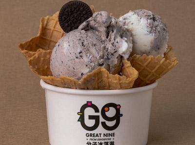 G9分子冰淇淋加盟牛奶奥利奥
