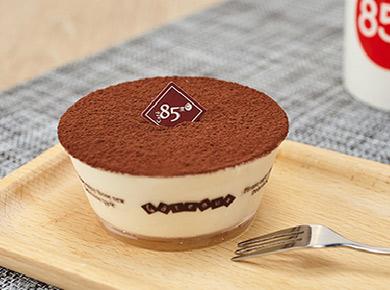 85度c蛋糕加盟提拉米苏杯