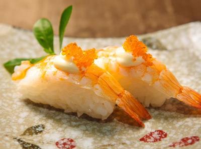 上善本味熟虾寿司