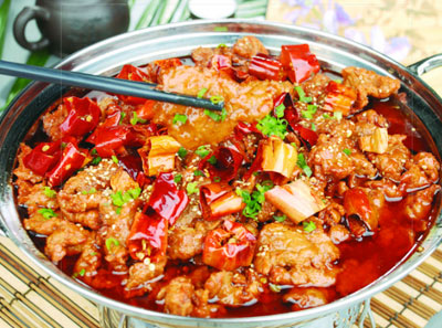 金爪爪干锅加盟菜品