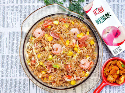 港小妹铁板炒饭加盟菜品
