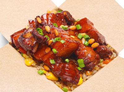 小盒子炒饭加盟菜品