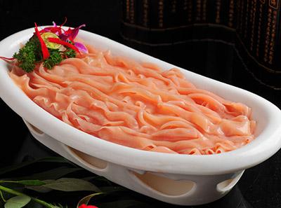 巴门焱裸火锅菜品