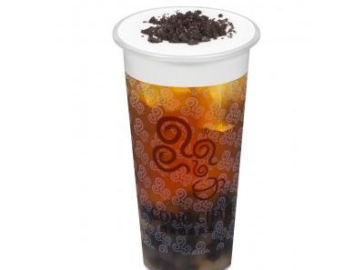 四云奶盖贡茶熊猫奶盖乌龙茶