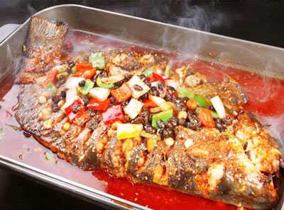 鱼酷活鱼现烤菜品