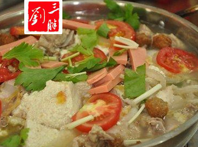 刘三胖荤豆花加盟