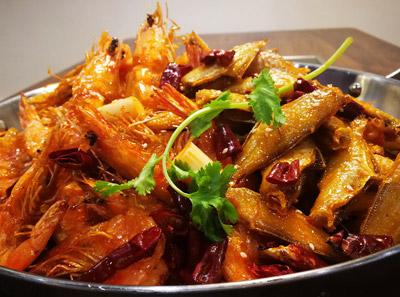 肯美香辣虾加盟菜品