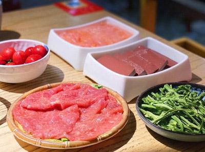 鸭血火锅加盟菜品