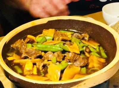 罗勒家三吃牛肉锅