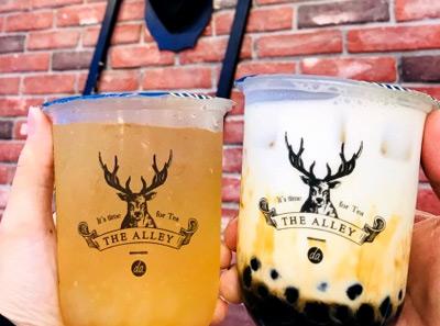鹿角巷奶茶产品