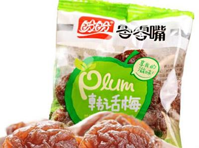零零嘴休闲食品菜品展示