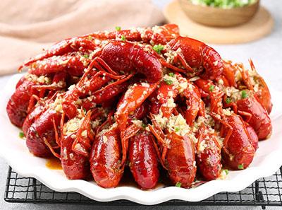 松哥油焖大蝦加盟菜品