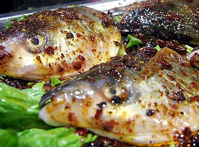 兵锅鱼头加盟菜品