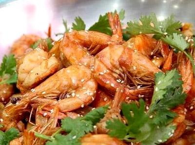 潮港大虾加盟菜品