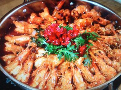 陈氏大虾加盟菜品