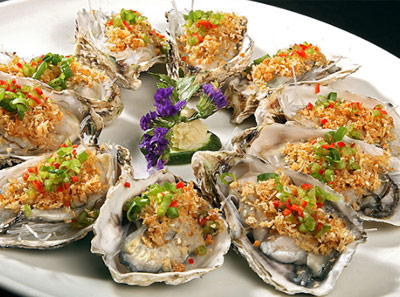 汉菲牛排海鲜自助加盟菜品