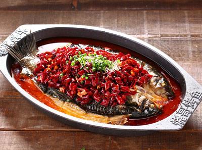 烧哥烤鱼加盟菜品