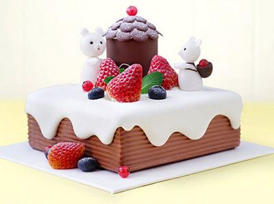 好利来小熊乐园蛋糕