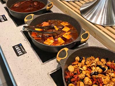 鱼肚白自助烤肉加盟菜品