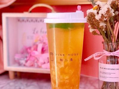 桃二熹奶茶加盟产品