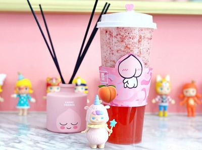 桃二熹奶茶加盟