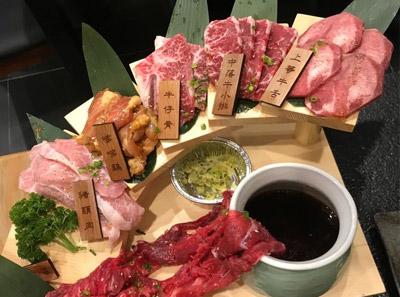 盛江山自助烤肉菜品介绍