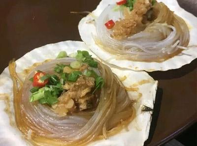 盛江山自助烤肉菜品