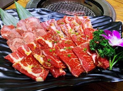 鹤一烤肉主题餐厅加盟菜品