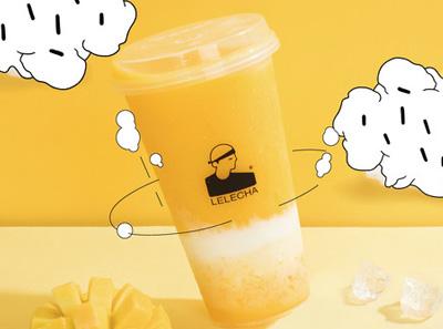 LELECHA乐乐茶饮品展示介绍