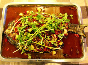 独一味泡椒烤鱼