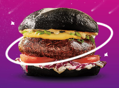 朗派汉堡加盟菜品