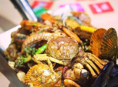 手抓海鲜加盟菜品