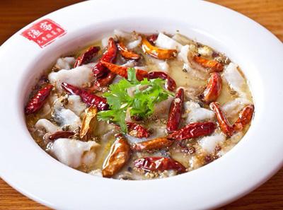 渔客无骨酸菜鱼加盟菜品
